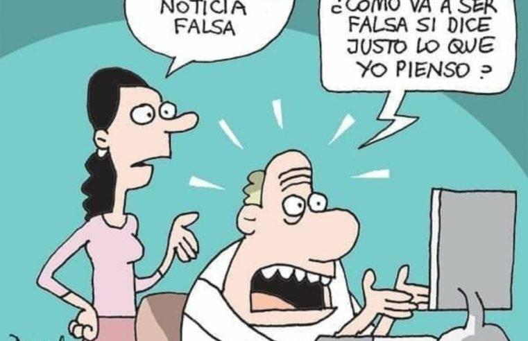caricatura posverdad